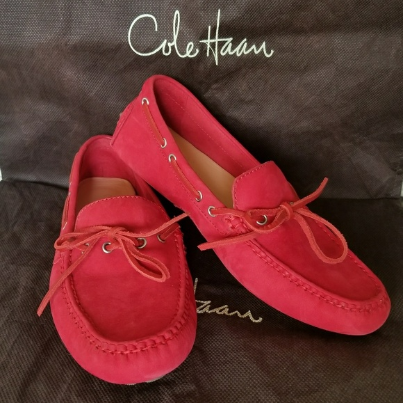 946c8a871796 Cole Haan Shoes - Nwob Cole Haan Nike Air red suede shoes